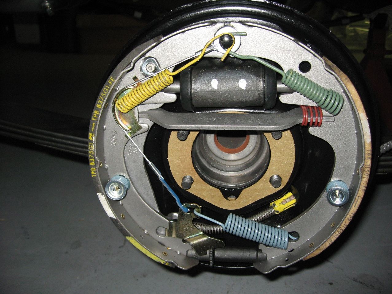 65 Rear Drum Brakes Vintage Mustang Forums