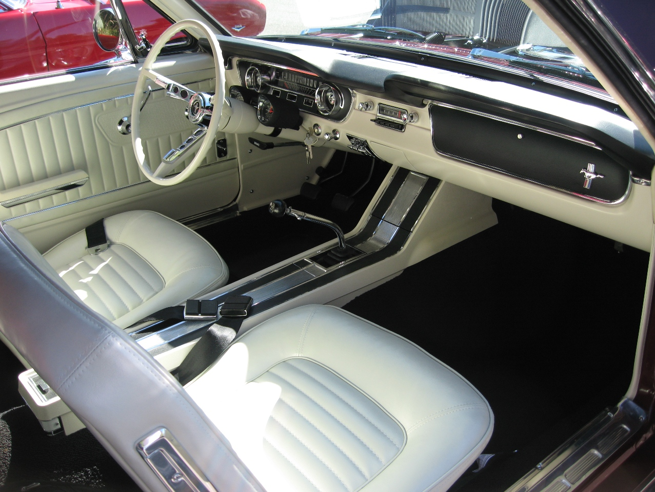 1965 k mustang convertible restoration. Black Bedroom Furniture Sets. Home Design Ideas